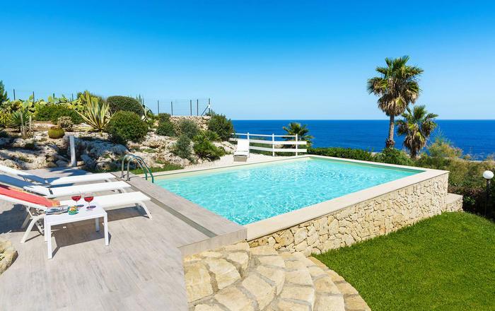 Villa Catrice - 4 Guests, Syracuse Area, Sicily