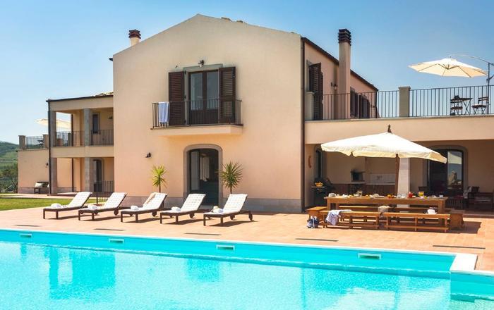 Villa Adalgisa - 15 Guests, Tindari Area, Sicily