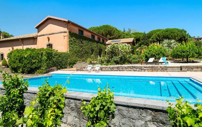 Villa Palla, Mount Etna Area, Sicily