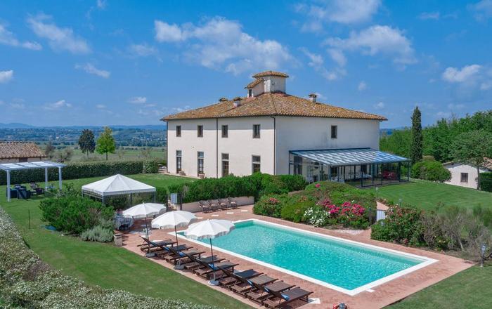 Villa Meraviglia, Cortona Area, Tuscany
