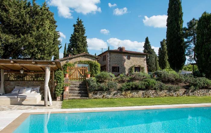 Villa Ambrosia, Arezzo Area