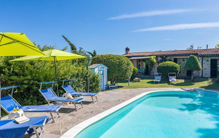 Villa Fienile, Monticiano