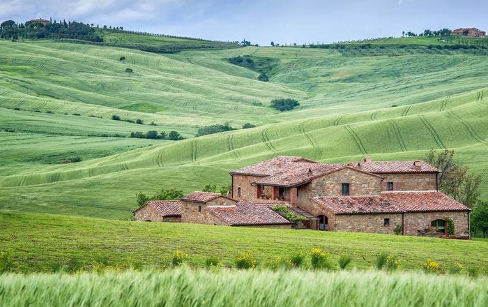 Villa Circe, Siena Area, Tuscany
