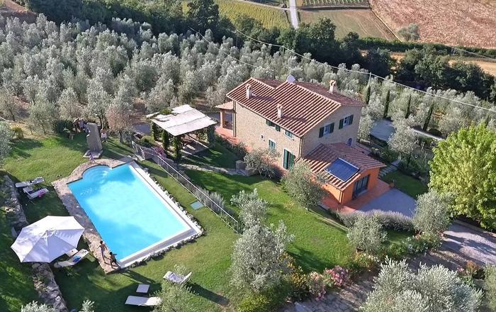 Villa Ottavia, Cortona Area, Tuscany