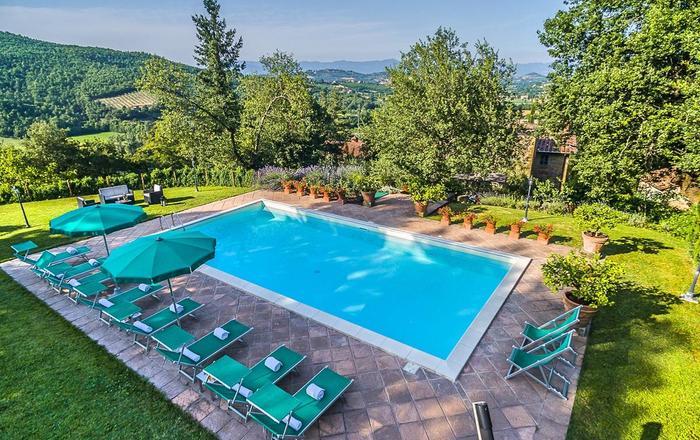 Villa Clorinda, Arezzo Area, Tuscany