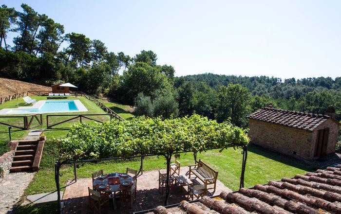 Villa Aderente, Lucca Area, Tuscany
