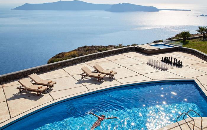 Villa Agrimi, Santorini, Greece