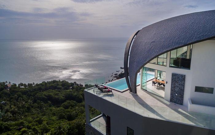 Luxury Sky Dream Villa & Loft with panoramic Sea View, Ko Samui