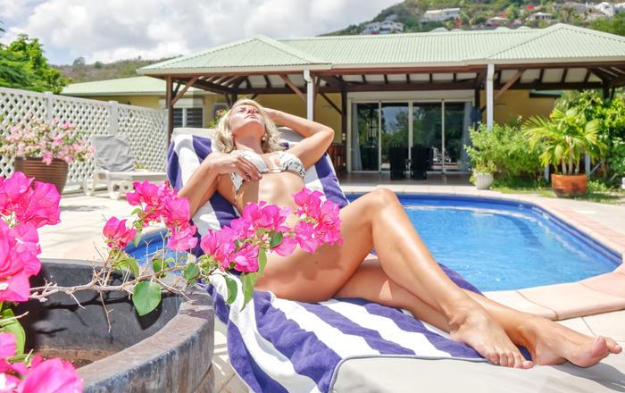 Villa La Source 5 bedrooms  up to 10 guests -Orient Bay  Saint- Martin, Cul-de-sac
