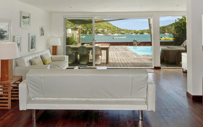 Villa Jayla 3 bedrooms in Cul de Sac bay face to the famous Pinel islet., Cul-de-sac