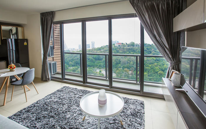 Unixx 33 Dream Apartment with Beach View, Muang Pattaya