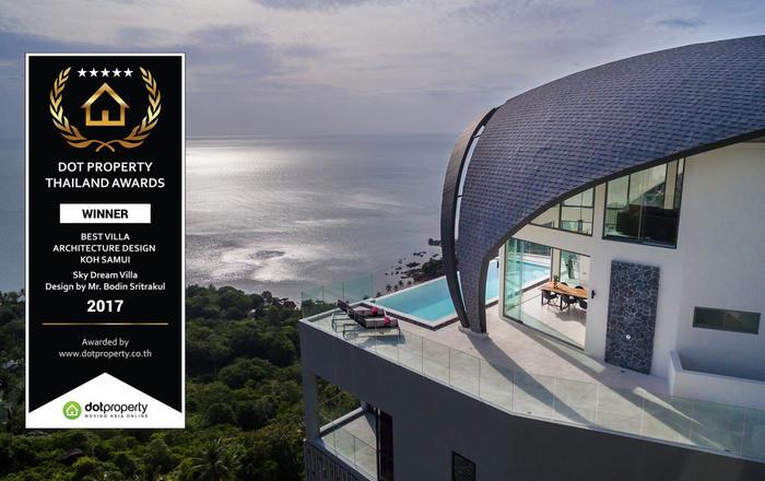 Luxury Sky Dream Villa with panoramic Sea View, Ko Samui
