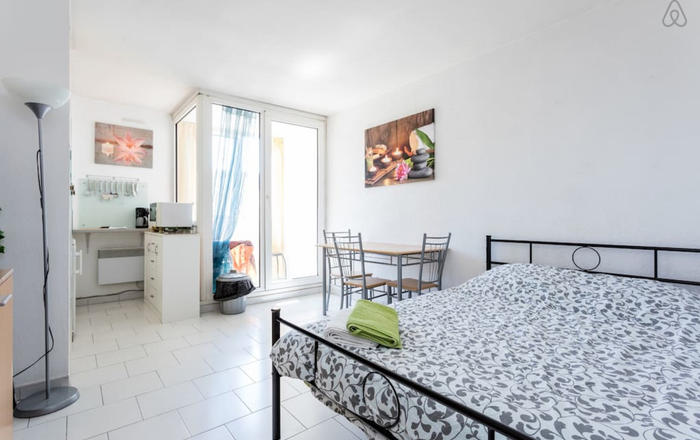 Studio close to the city centre, Montpellier