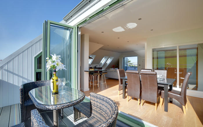 The Penthouse At Point View, Croyde