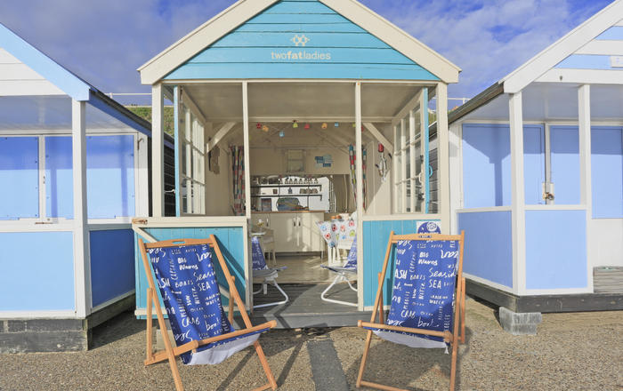 Two Fat Ladies Beach Hut, Southwold