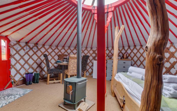 Barn Owl Yurt, Askrigg