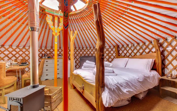 Lapwing Yurt, Askrigg