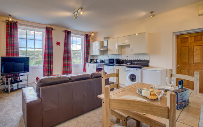 Carr View Hall Apartment 4, Sleights