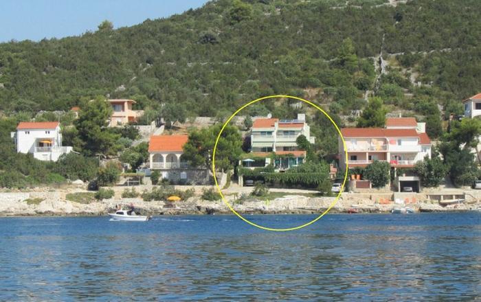 Studio apartment Ante Č A6 Vinisce, Riviera Trogir, Vinisce