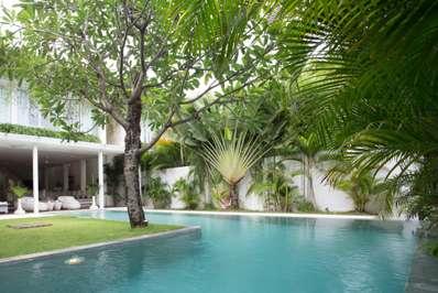 Villa Eden Front Side - Bali villa