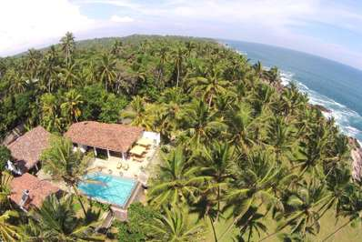 The Saffron House - South and South East Sri Lanka villa