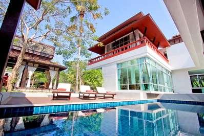 Baan Mork Nakara - Pattaya villa