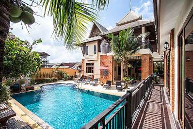 Baan Suay Tukta - Pattaya villa