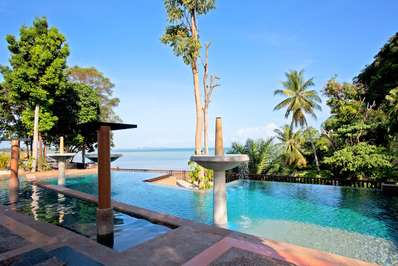 Krabi Beachfront Seaview Suite - Krabi villa