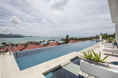 Bophut View Penthouse - Koh Samui villa