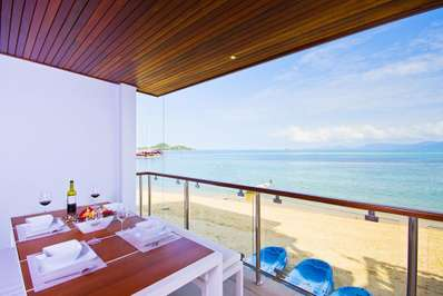 Osho Beachfront Apartments - Koh Samui villa