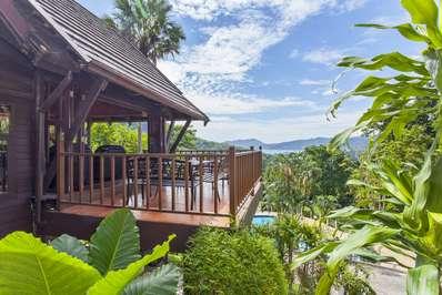 Patong Hill 4 bedroom - Phuket villa