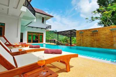 Patong Hill 8 bedroom - Phuket villa