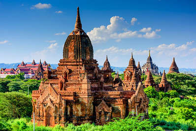 Archeological Zone of Bagan in Myanmar