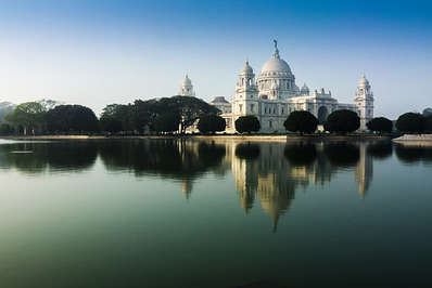 The Victoria Memorial is another iconic landmark in Kolkata