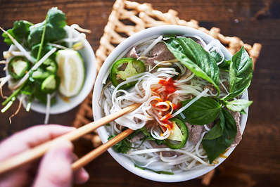 Vietnamese Pho is enjoyed all over the country