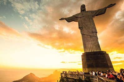 Jesus Christ the Redeemer over Rio de Janeiro