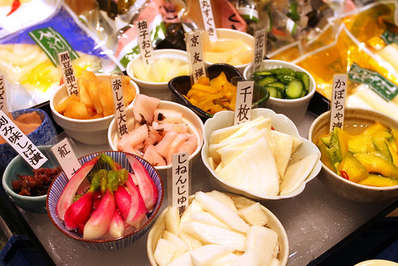 Nishiki Market is known as the 'Pantry of Kyoto' with its countless eateries