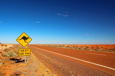 Australia has tens of thousands of kms of almost deserted outback roads