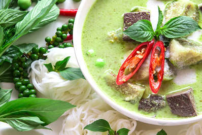 Thailand's famous green curry is a worldwide favourite