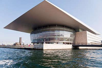A cultural centrepiece of Copenhagen is the modern opera house