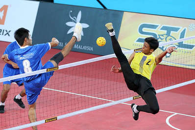 Sepak takraw is a fast and exciting sport