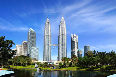 The Petronas Towers in Kuala Lumpur remain the tallest twin buildings in the world
