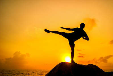 Asian martial arts are also about the spritual disciplines