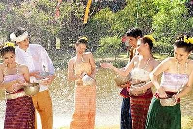 Songkran water festival, Thailand 1