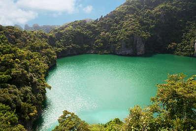 Lagoon at Ang Thong Marine Park Thailand
