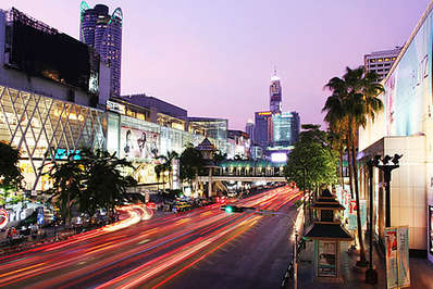 Central World is Thailand's largest shopping mall and the 7th largest worldwide