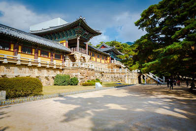 Bulguksa-Temple-in-Korea-is-a-UNESCO-World-Heritage-site