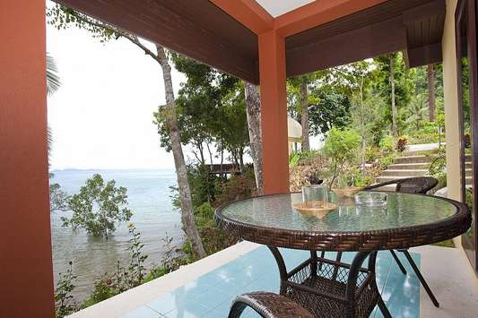 Krabi Beachfront Oceanside Suite - Krabi