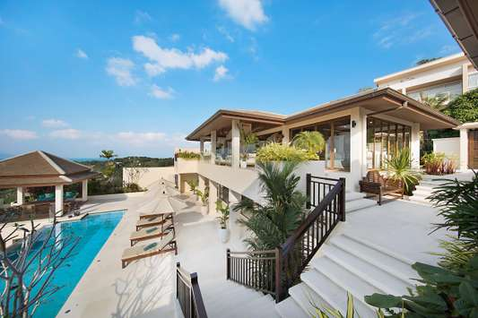 Pool on the Hill - Koh Samui