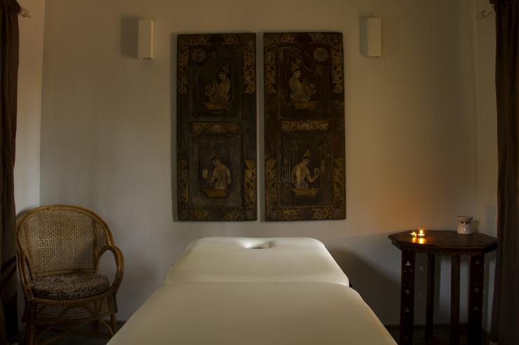 Dedicated massage room